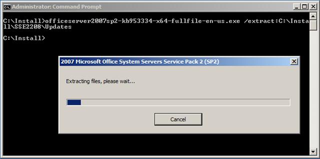 Microsoft Search Server 2008 Express on Windows Server 2008